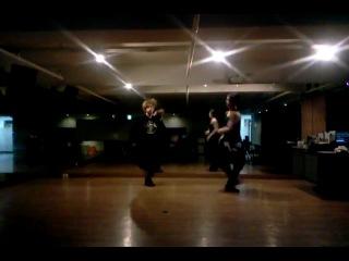 |Dance Practice| AA (더블에이) (Aoora & Woo) - Hold it against me (Britney Spears)
